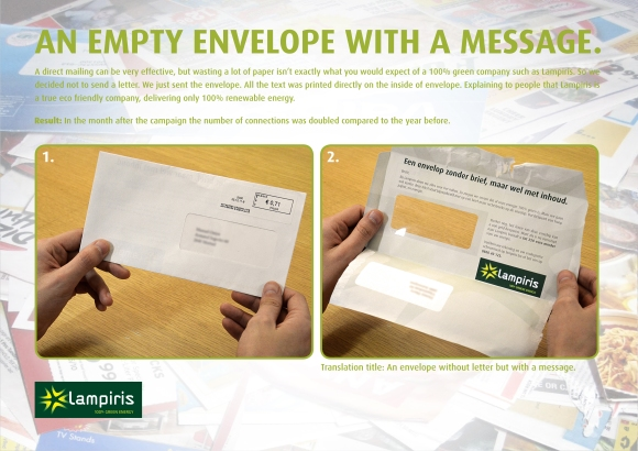 The Lampiris envelope